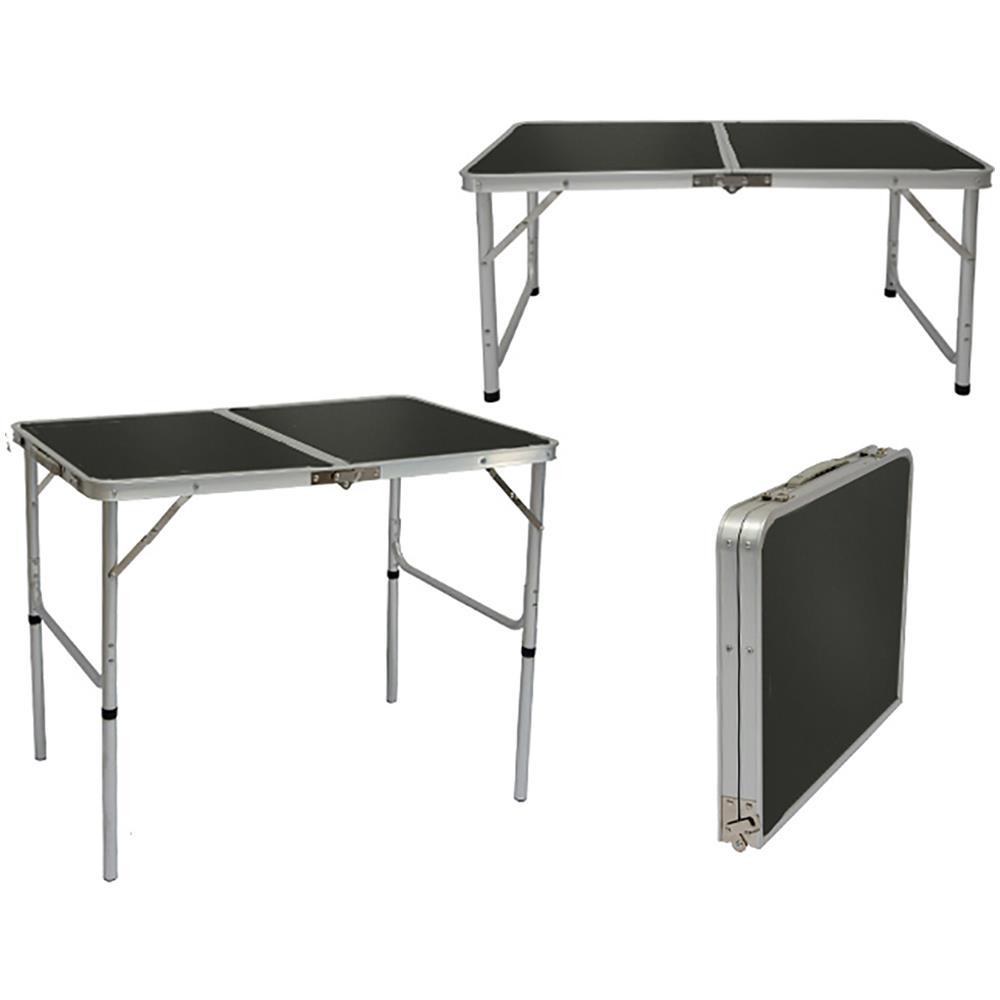 Tavolino Campeggio Pieghevole Alluminio.Amanka Tavolino Da Pic Nic 90x60x70cm Tavolo Da Campeggio In