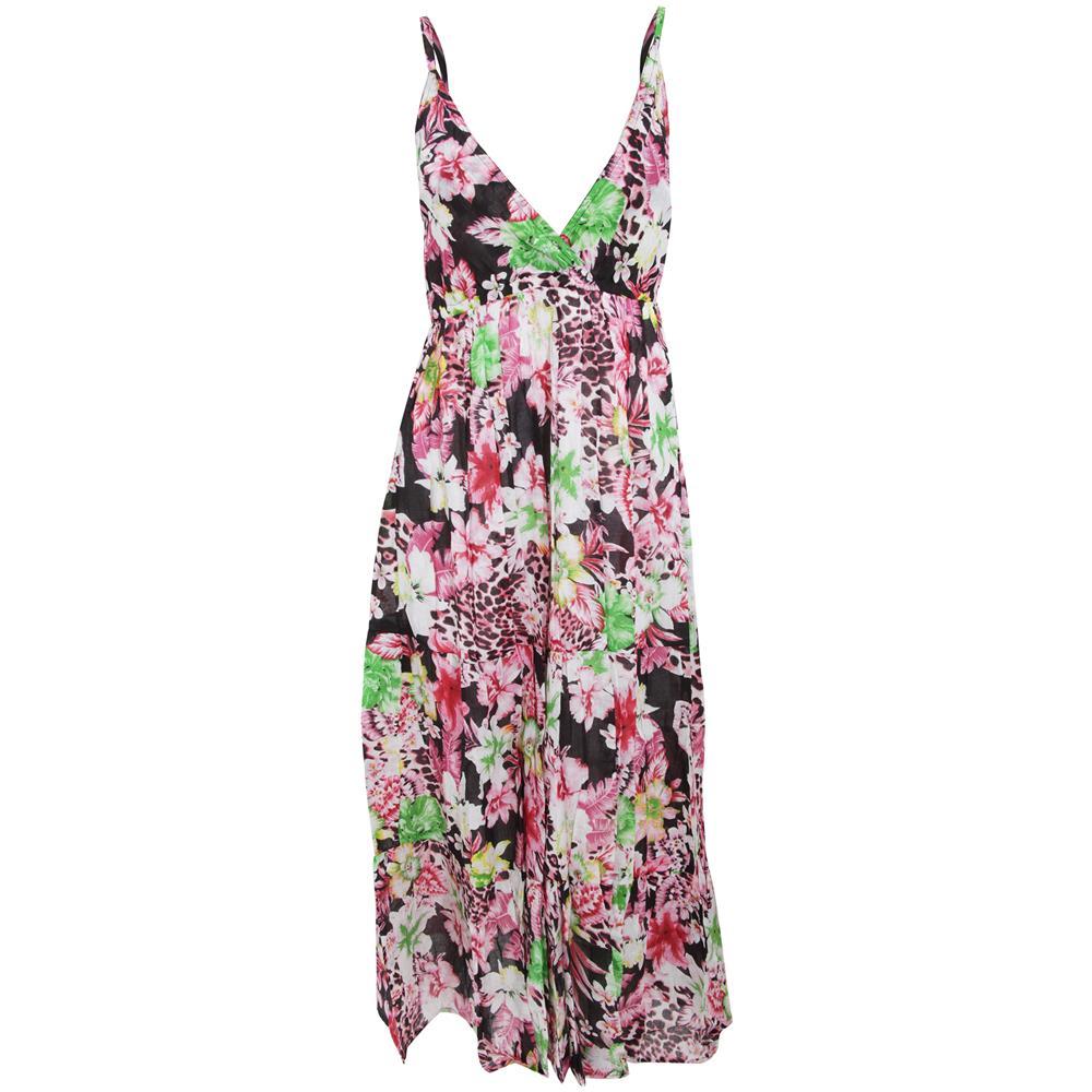 Universal Textiles Vestitino Estivo A Fiori Con Spalline Sottili Donna (m) ( rosa) b7507b649cf
