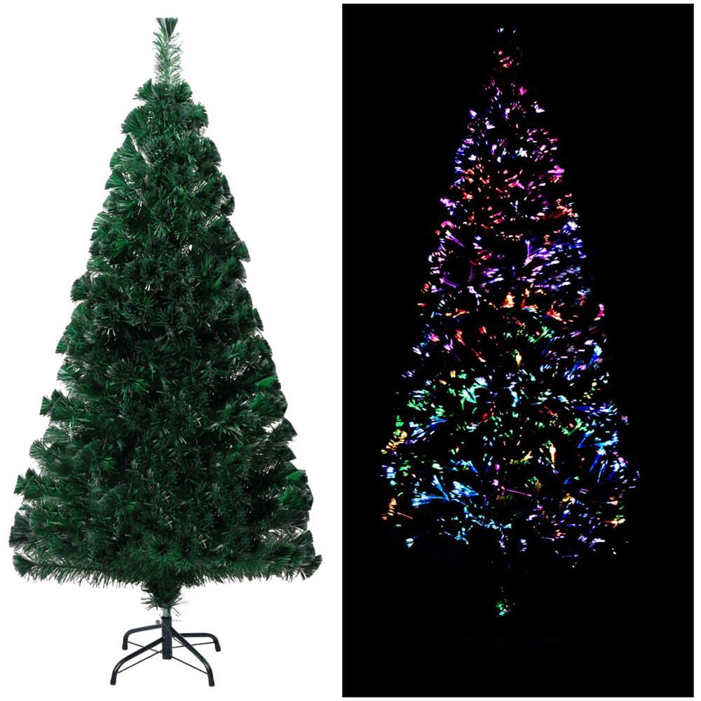 Albero Di Natale 120 Cm.Vidaxl Albero Di Natale Artificiale Con Supporto Verde 120 Cm Pvc Eprice