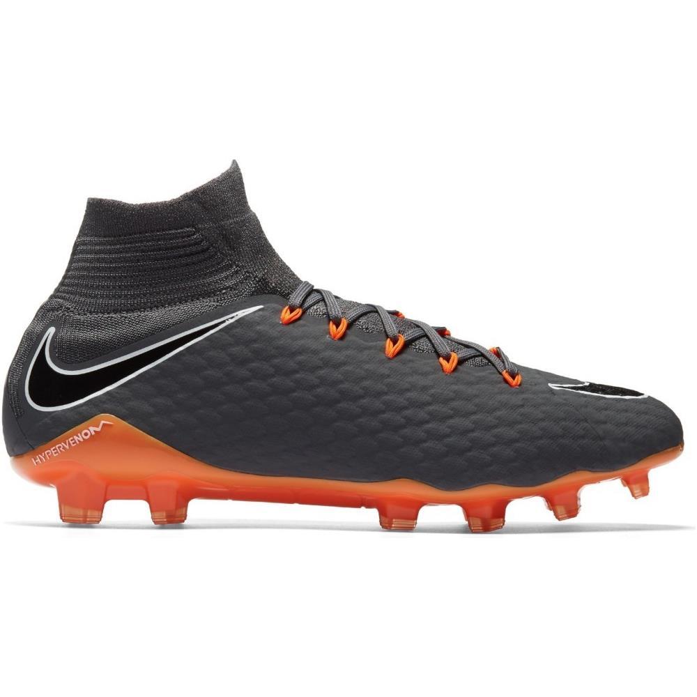 60b33645d89ed1 NIKE Scarpe Calcio Nike Hypervenom Phantom Iii Pro Df Fg Fast Af Pack  Taglia 43 - Colore: Grigio / arancio