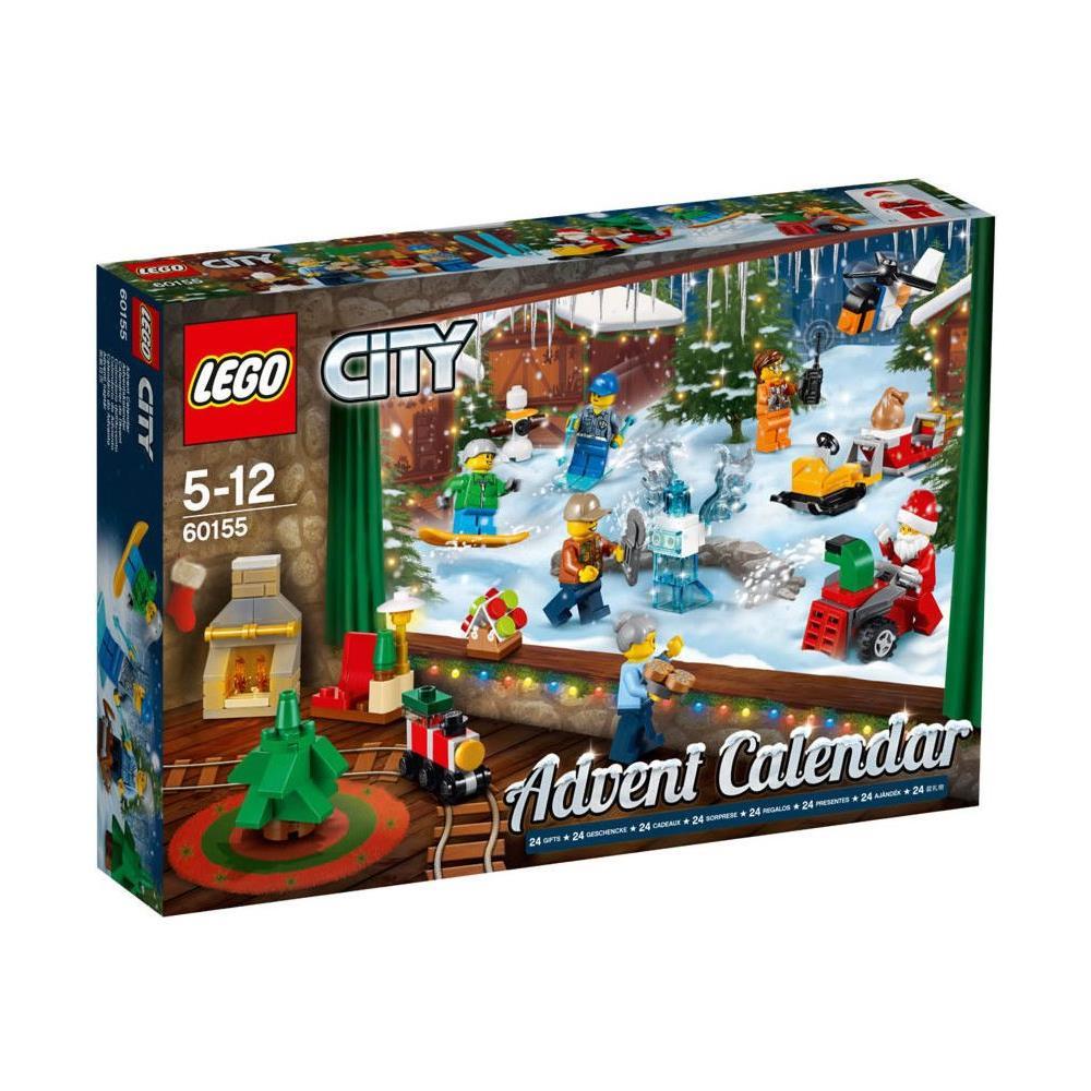 Calendario Avvento Lego City.Lego 60155 Calendario Dell Avvento Di Lego City