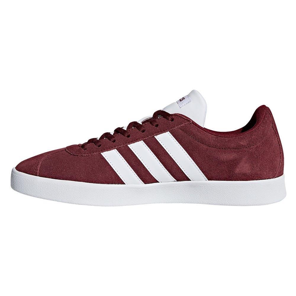 adidas court rosse