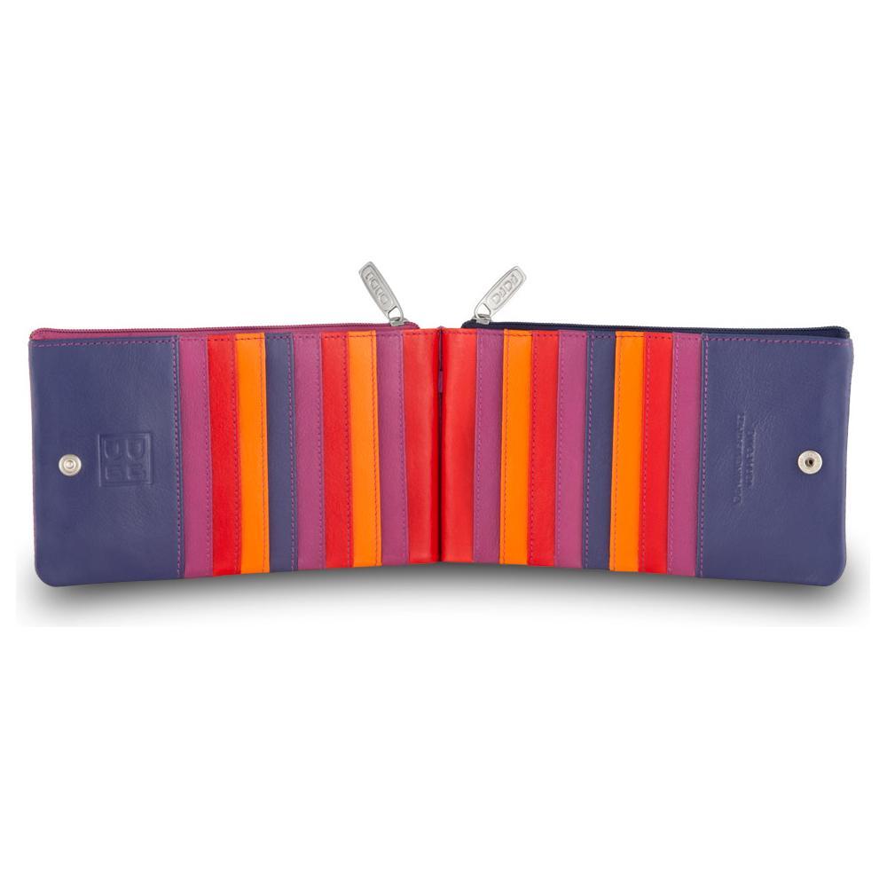 9b2981311d DuDu - Portafoglio donna a busta in pelle multicolore porta carte Fucsia -  ePRICE