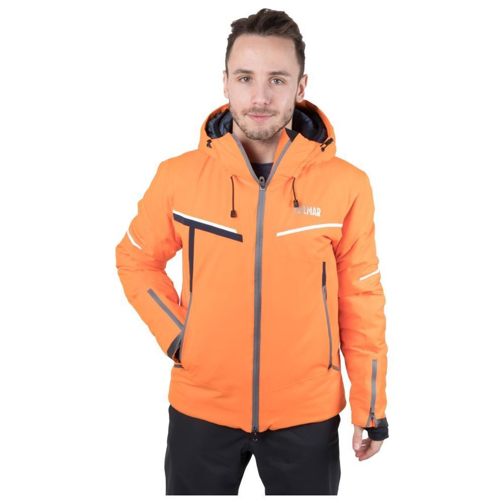 giacca sci uomo arancione