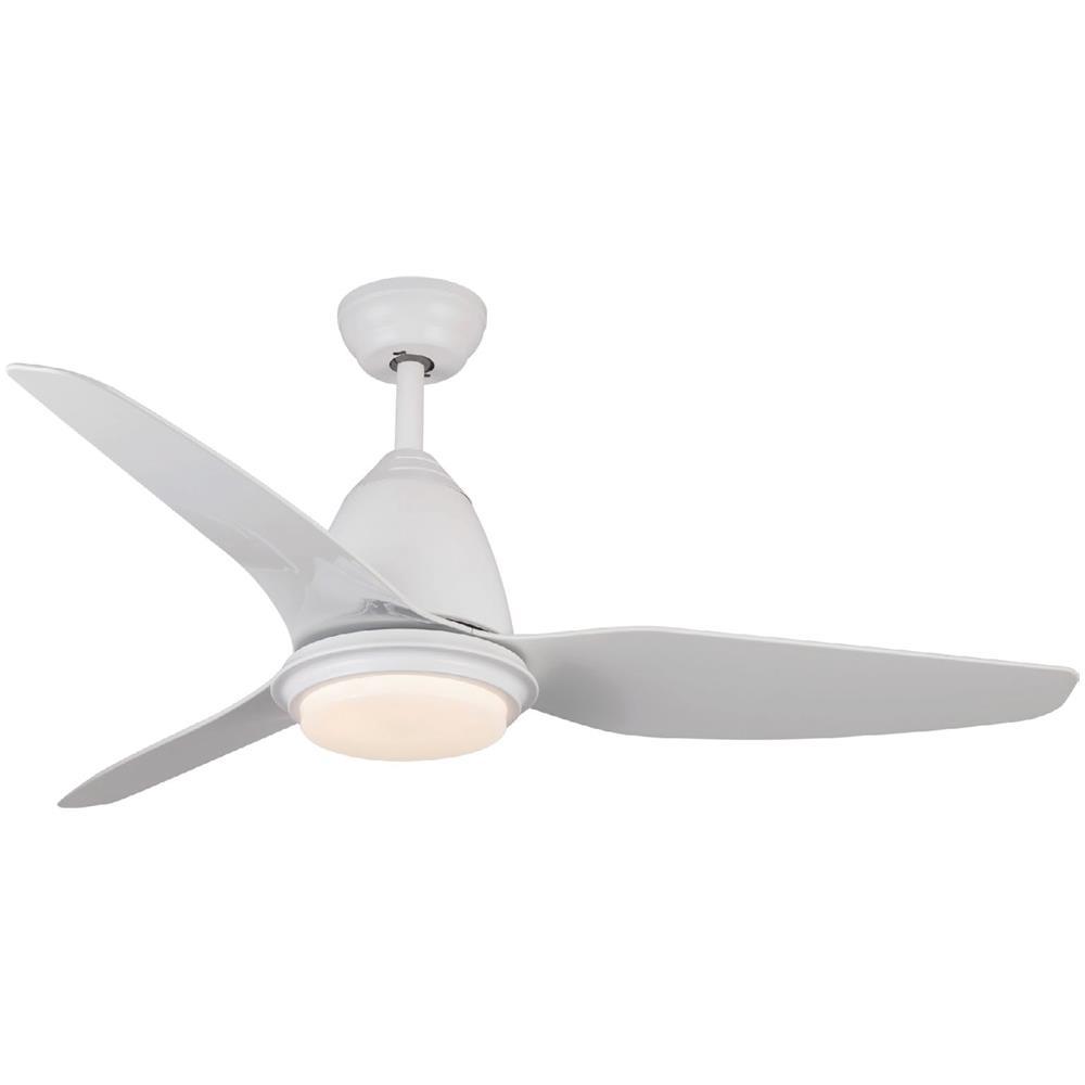 Design Ventilatore a Soffitto Bianco Mediterraneo lampada inclusa 81,5 cm di Faro