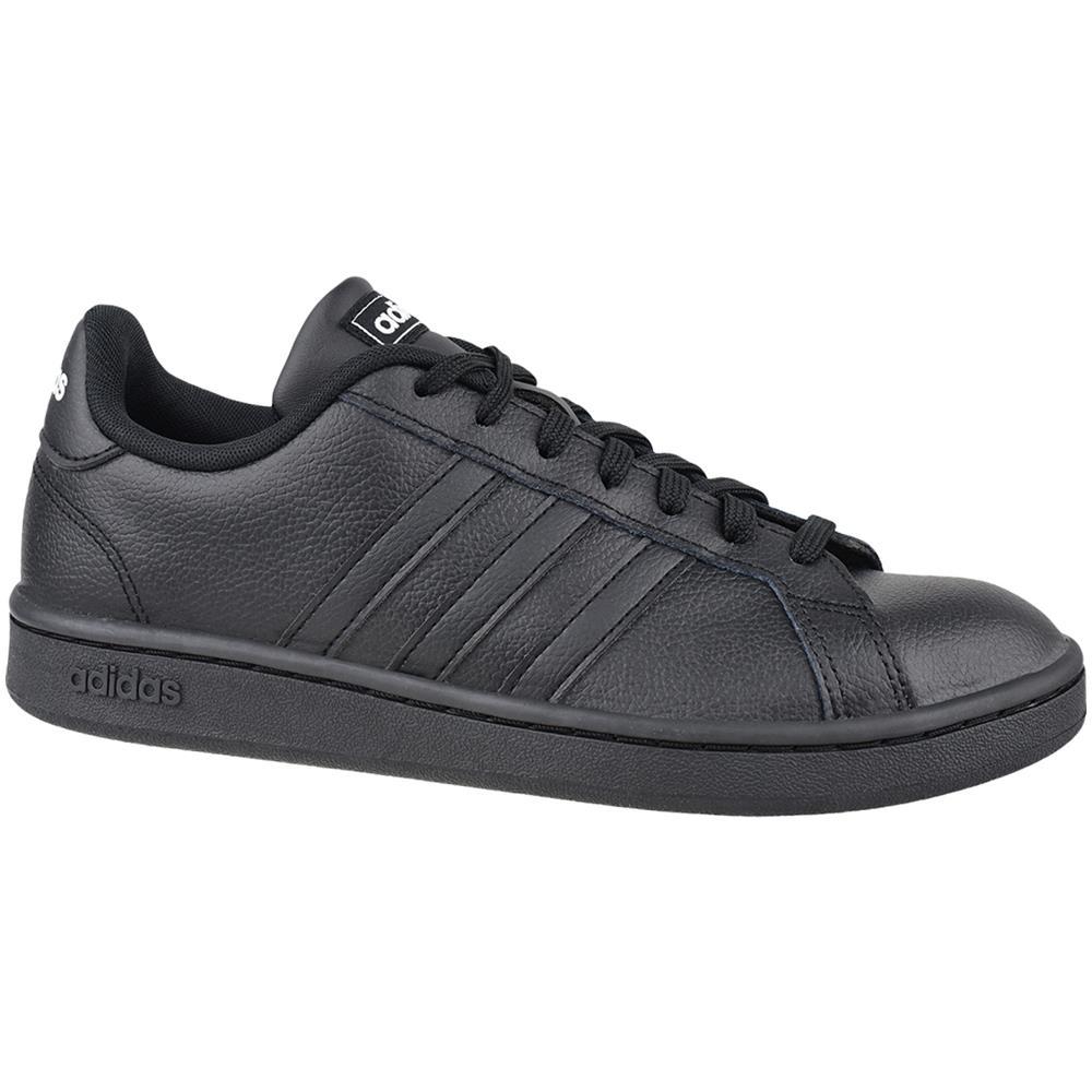 adidas grand court uomo nere