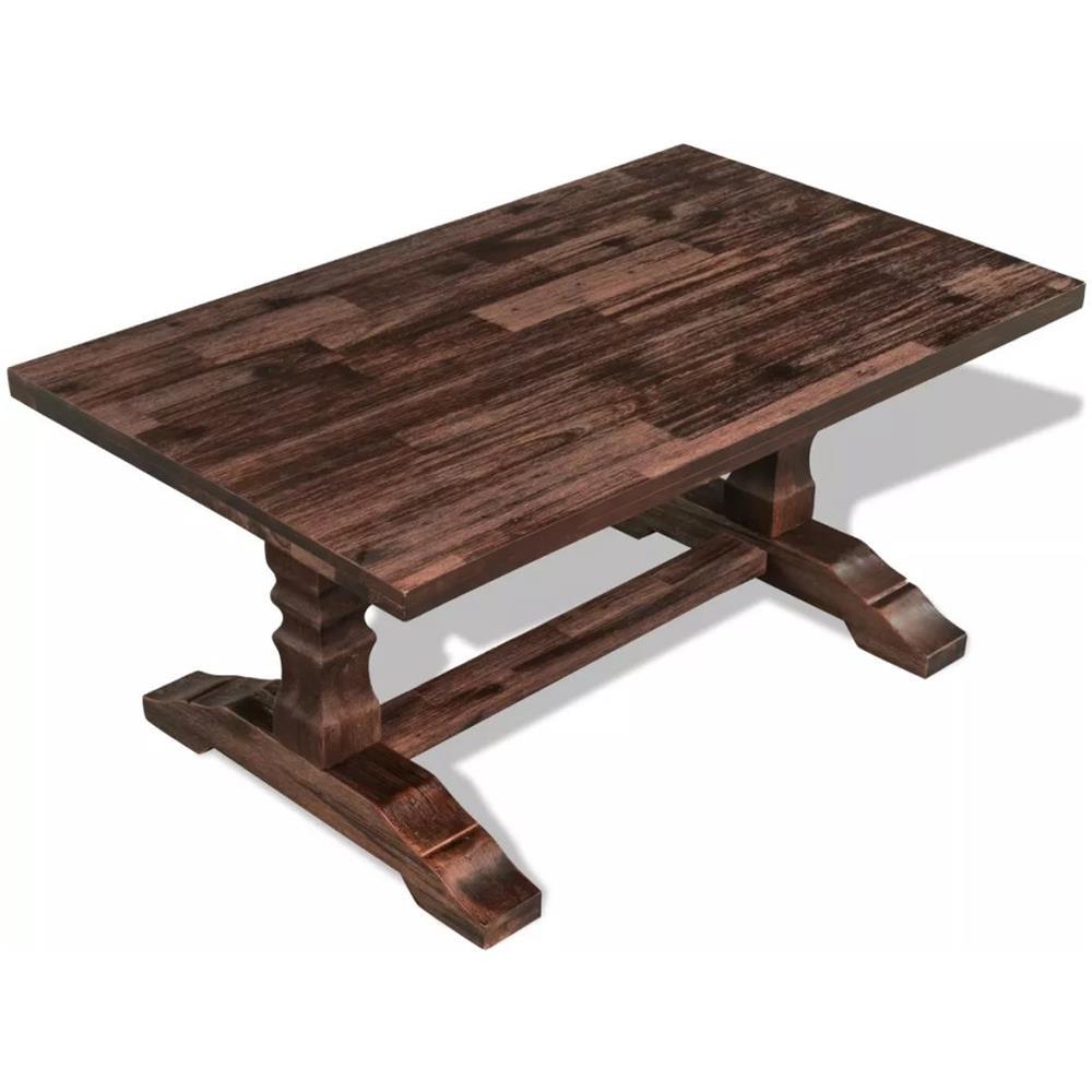 vidaXL Tavolino da Caff/è per Esterni in Legno di Acacia