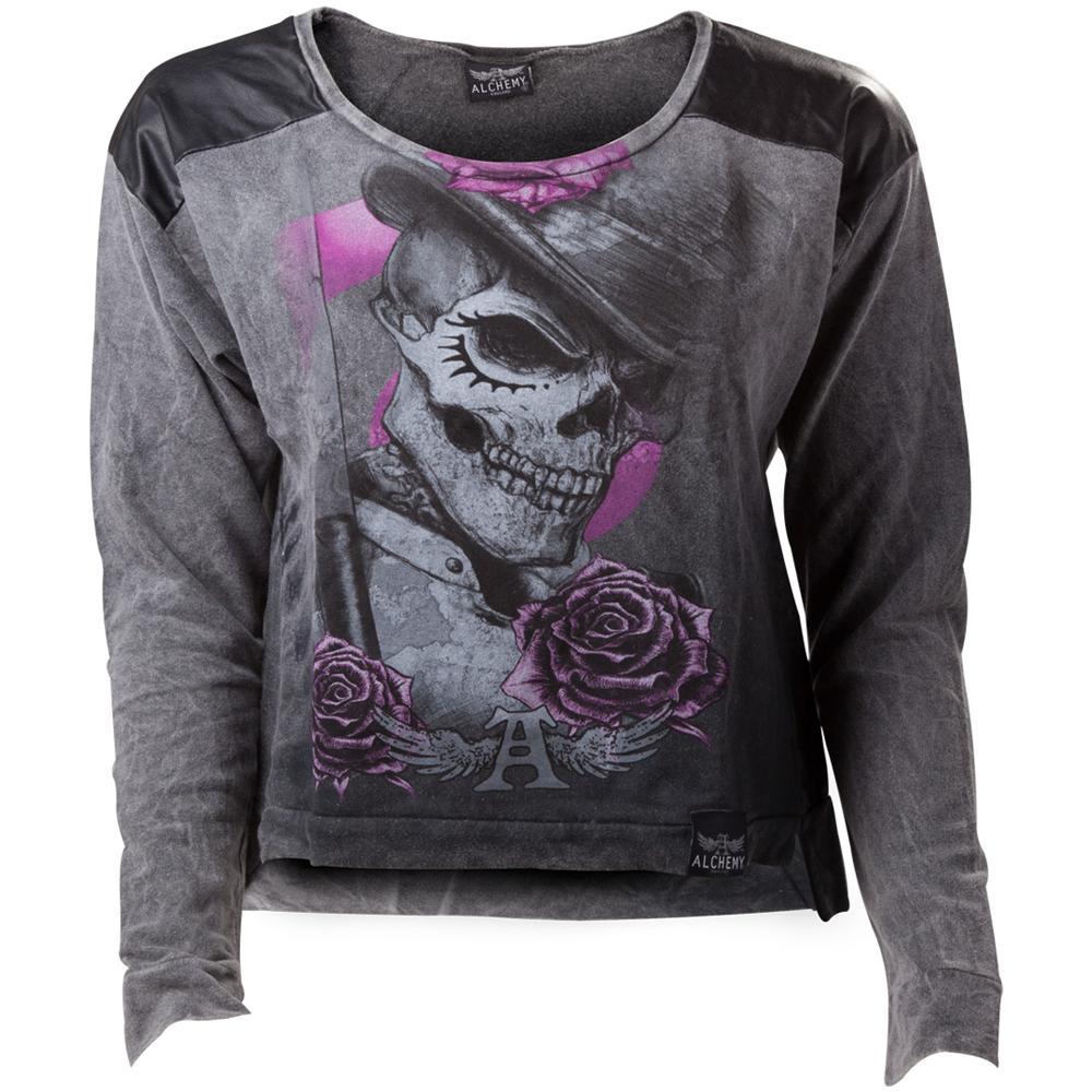 Abbigliamento Alchemy: Aea Dead Droog Gray Calipo (Felpa Unisex Tg. M) NUOVO SIGILLATO, EDIZIONE DEL 09/10/2014 SUBITO DISPONIBILE