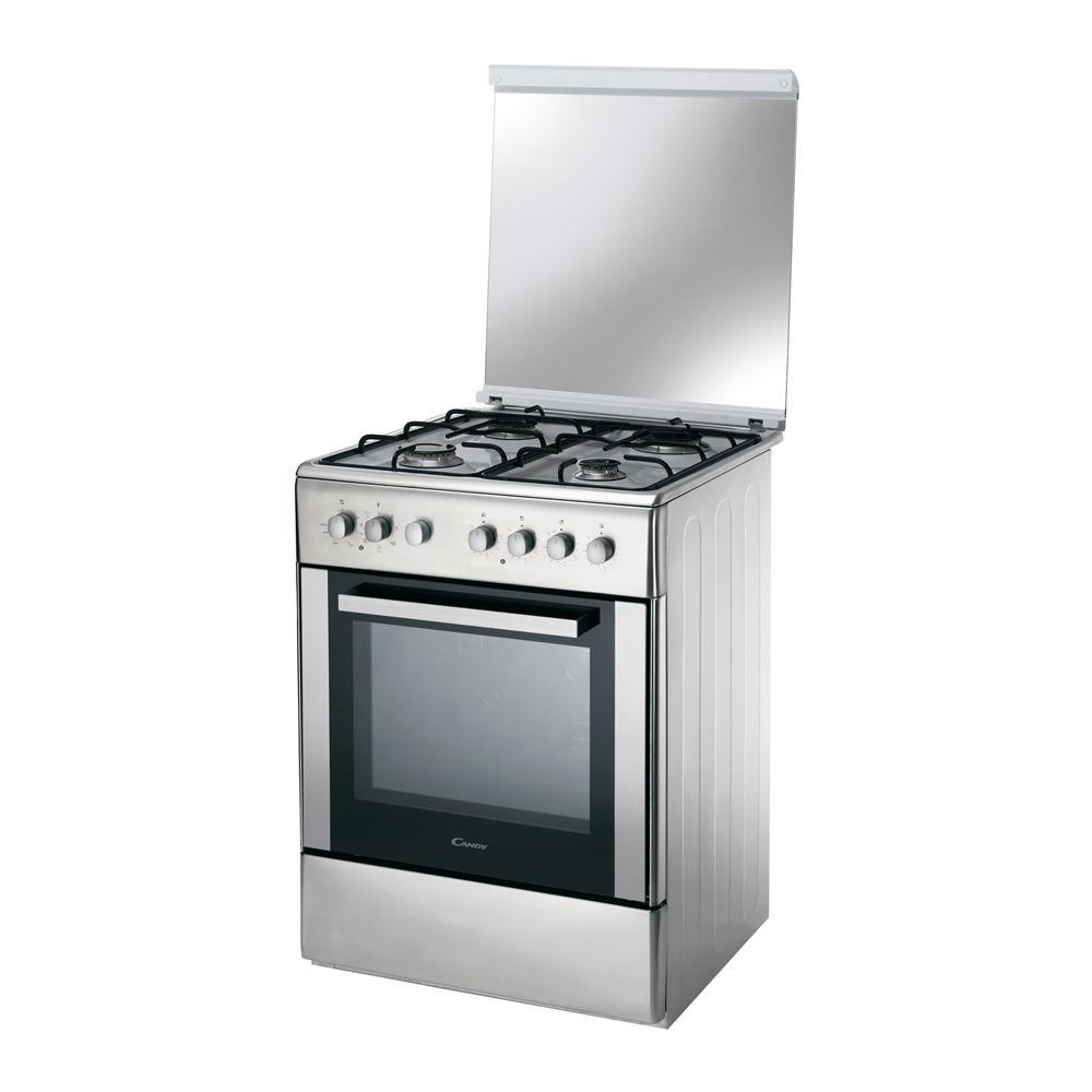 CANDY - CCG 6503 PX Cucina a Gas con Forno Elettrico Classe A ...