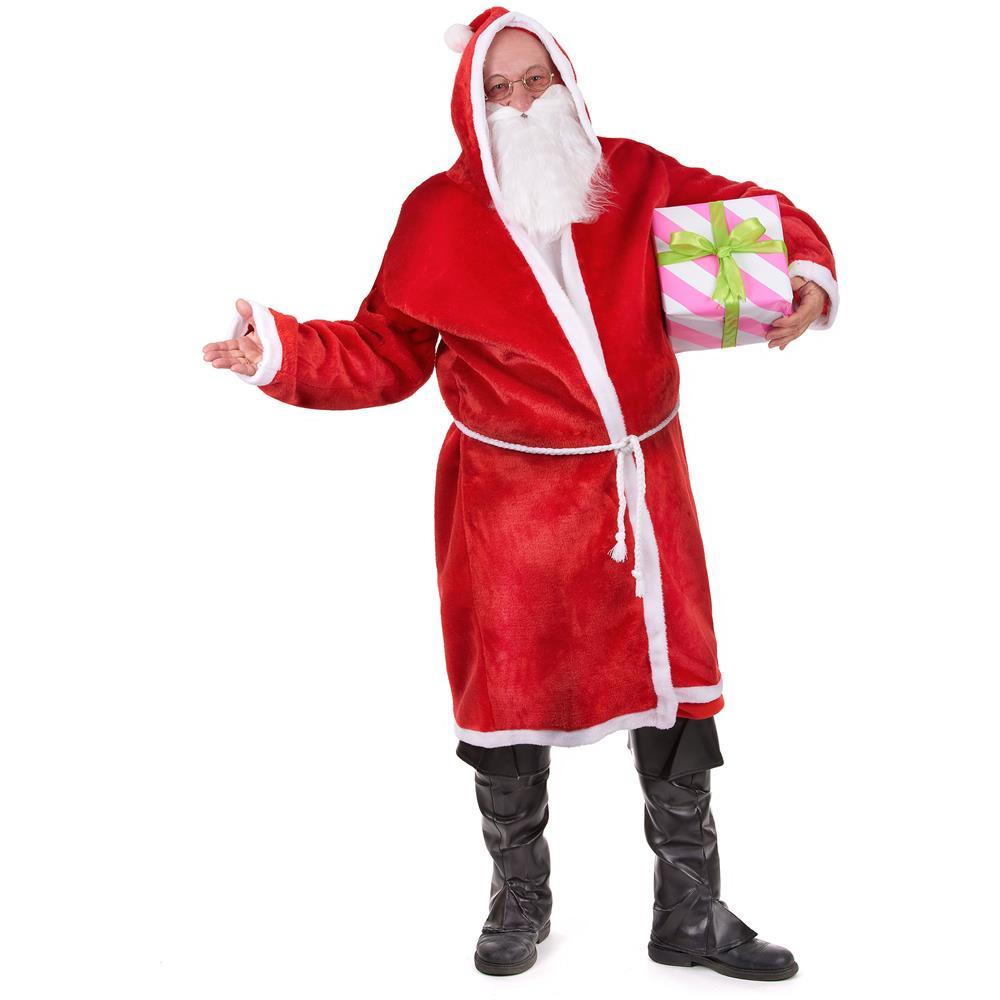 Costume Babbo Natale.Festivifete Costume Babbo Natale Da Adulto Taglia Unica Eprice