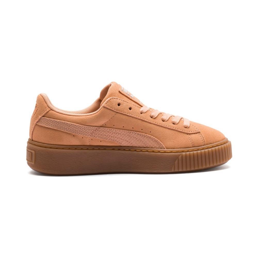 Suede platform animal donna Nero | Sneaker Puma Donna