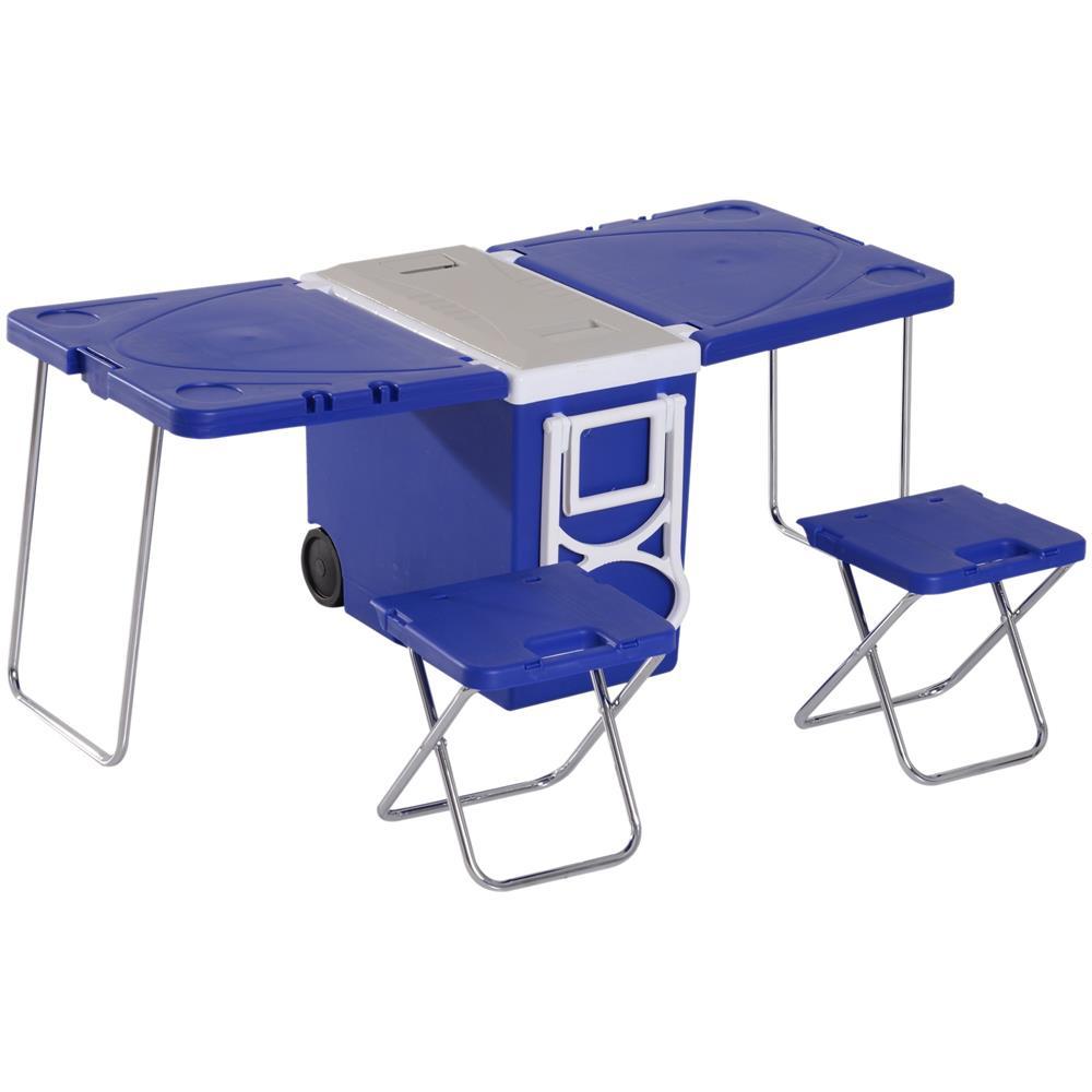 Set Tavolo E Sedie Da Campeggio.Dx Tavolo Pieghevole Set Tavolo E Sedia Da Campeggio All