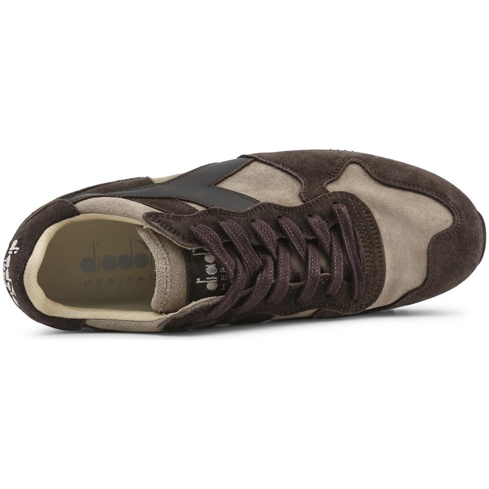 de2d3168724bb Diadora Heritage Sneakers Diadora Heritage Marrone Uomo Trident s sw c7155  marrone Taglia 7.5