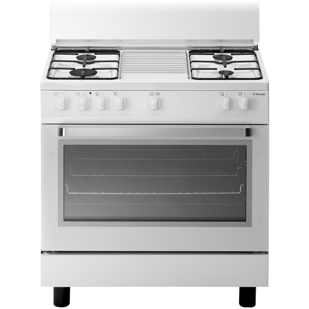 Tecnogas d808ws cucina a gas 4 zone cottura con forno a - Eprice cucine a gas ...