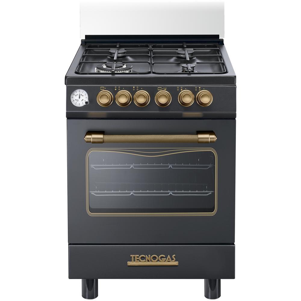 Tecnogas d664mn cucina a gas 4 zone cottura con forno - Eprice cucine a gas ...