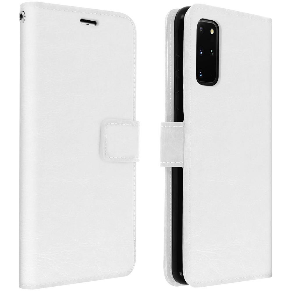 Avizar - Custodia A Libro Samsung Galaxy S20 Plus Portacarte Funzione  Supporto - Bianco - ePRICE
