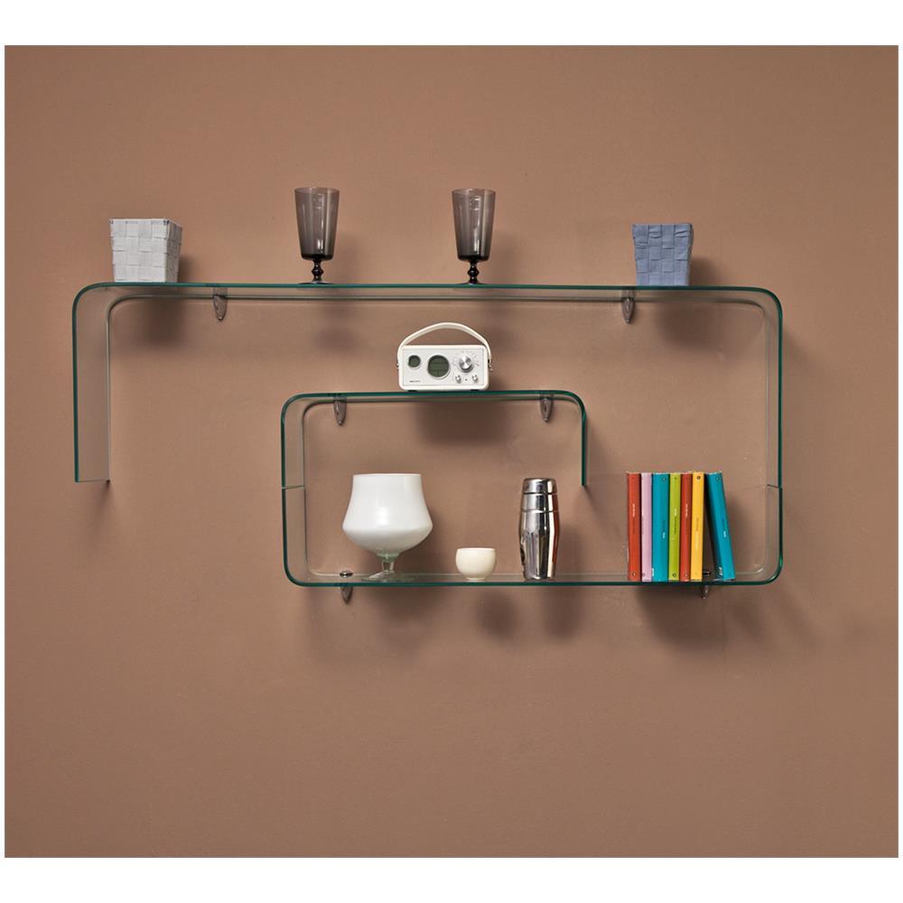 Twist Design - Libreria In Vetro Trasparente Chiocciola - ePRICE
