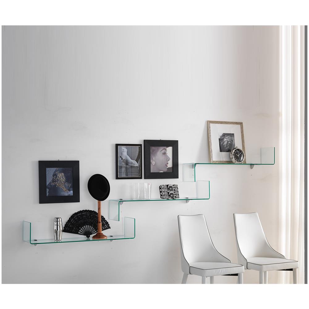 Twist Design - Libreria In Vetro Trasparente Stairway - ePRICE