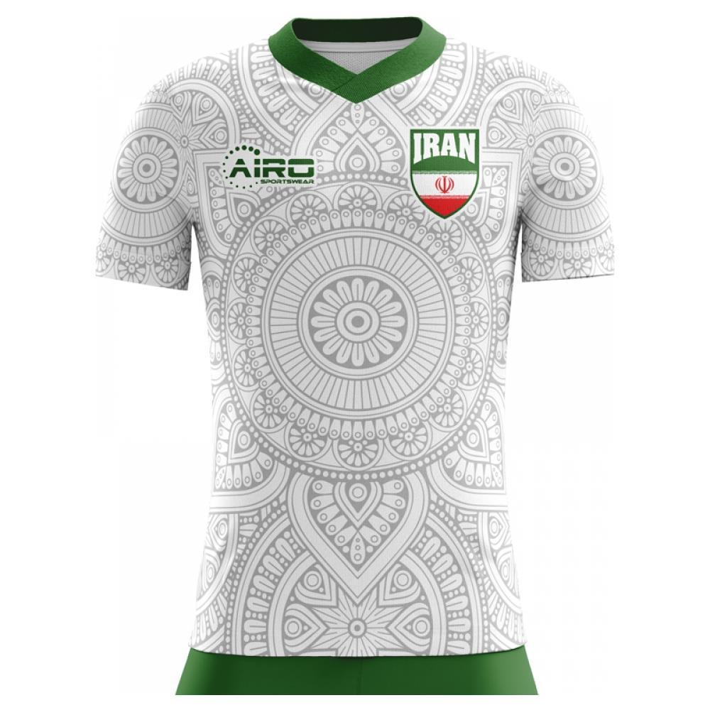 fa3fd7eee Airo Sportswear - 2018-2019 Iran Home Concept Football Shirt (kids) - L  Ragazzo - ePRICE