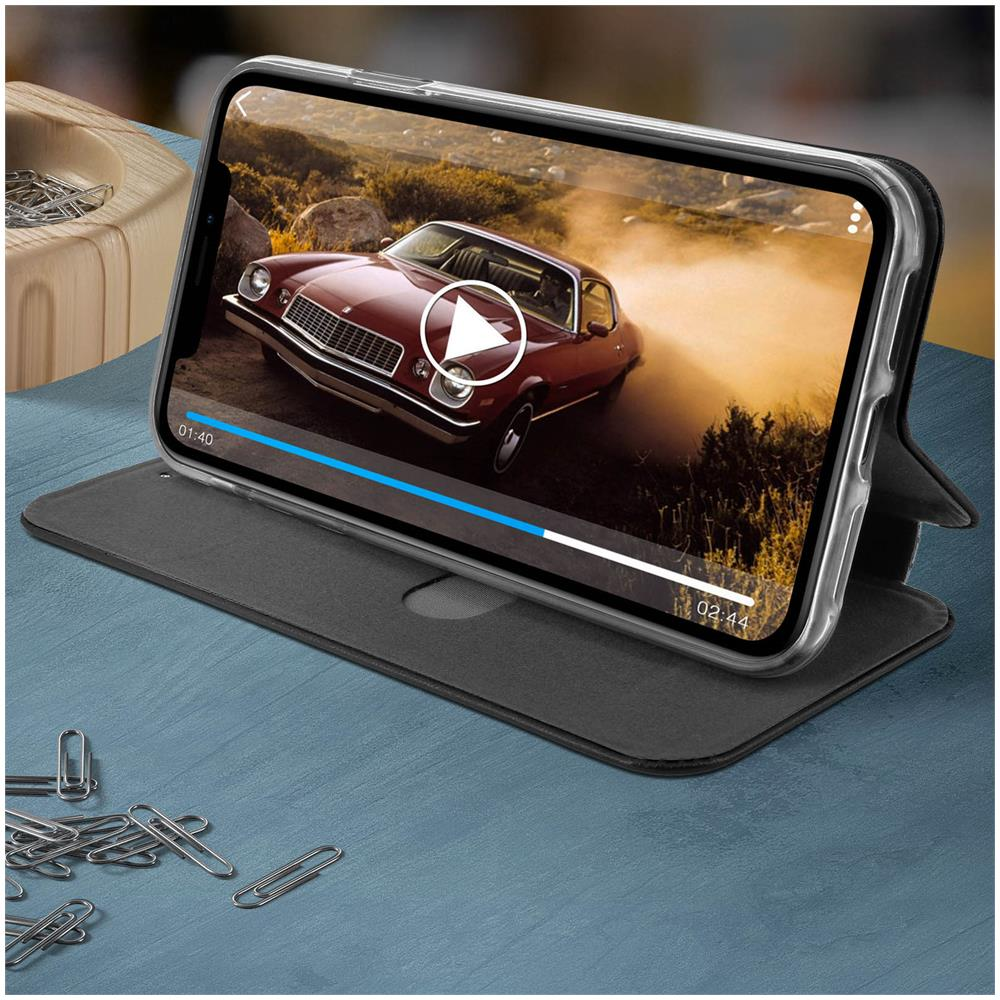 Avizar - Custodia A Libro Iphone Xr Portacarte Stand Video Cover
