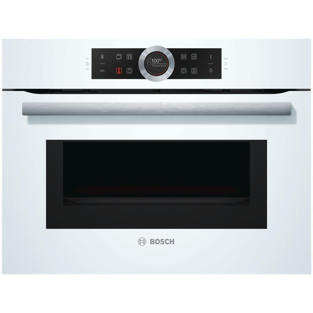 BOSCH Forno Elettrico da Incasso CMG633BW1 Capacità 45 L Multifunzione  Potenza 900 W Colore Bianco
