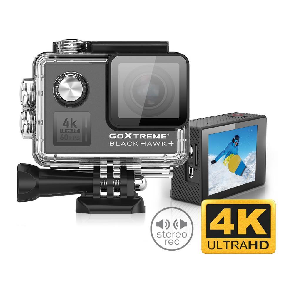 Action Cam GoXtreme Black Hawk+ 4K Ultra HD Display 2