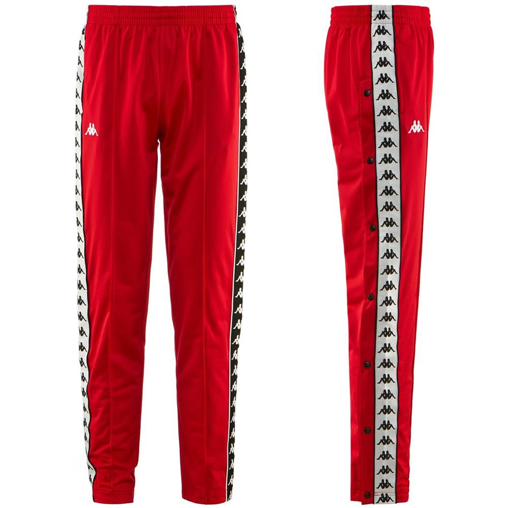 pantaloni tuta adidas uomo rossi