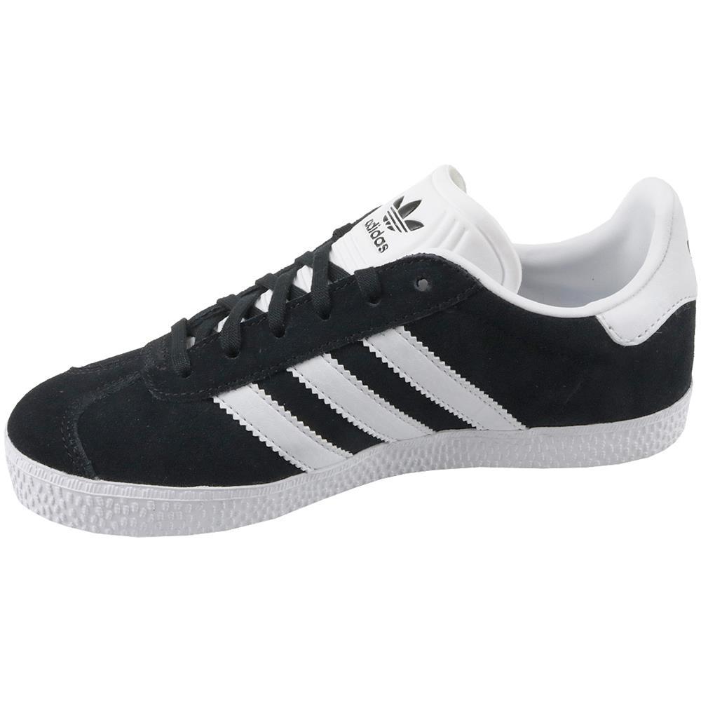 Adidas Gazelle J Scarpe Sportive Nere 38,5