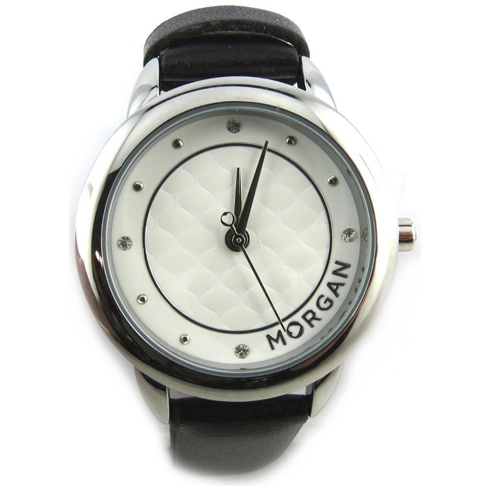 newest ff67e 38290 Morgan - orologio da polso 'french touch' '' bianco nero ...