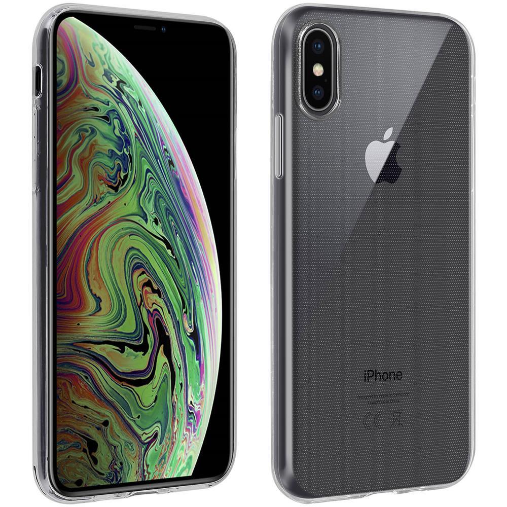 Avizar Cover Posteriore Pellicola Vetro Temperato Trasparente Iphone Xs Max