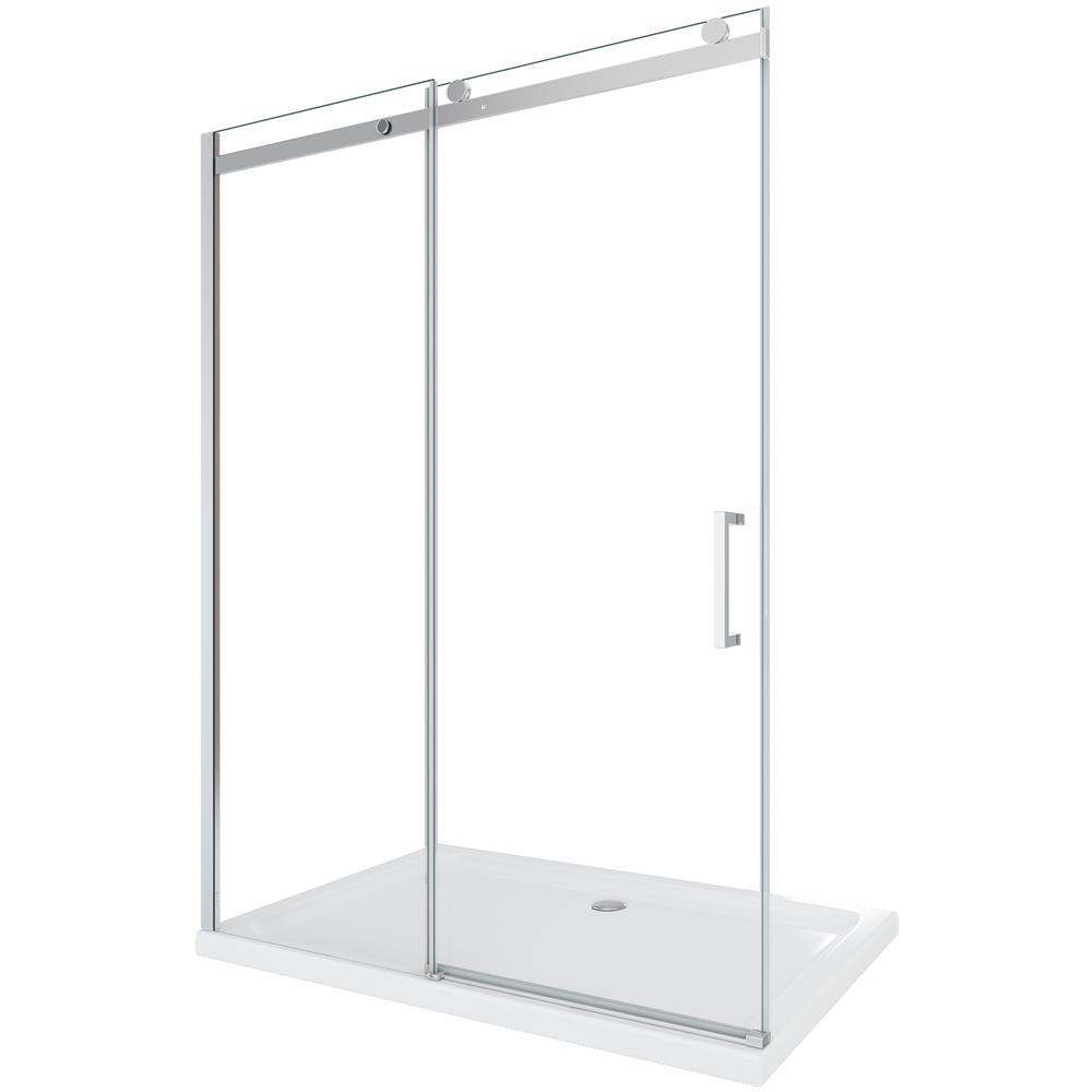 Reversibile 128-130.5 cm Nicchia Lusso Laneri Porta Doccia Scorrevole