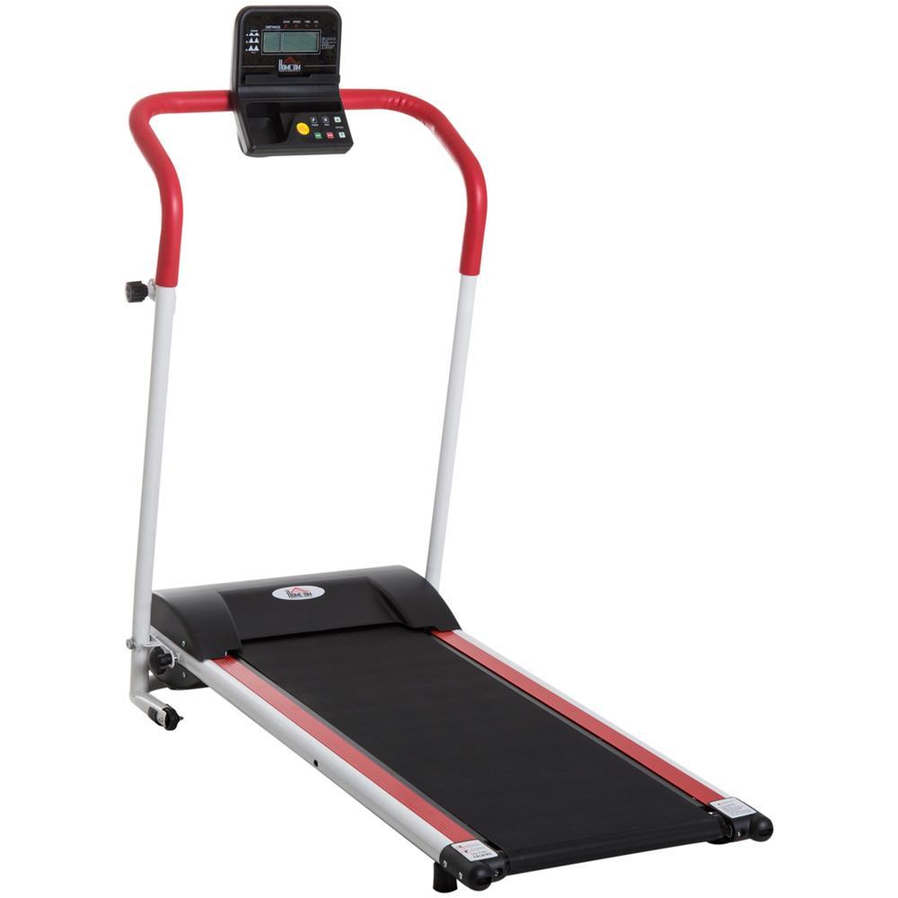 programma in esecuzione sul tapis roulant per perdere peso