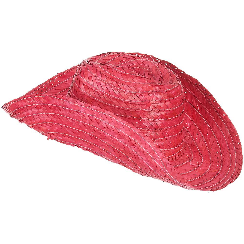 JADEO - Cappello Da Cowboy Rosa Per Adulti Taglia Unica - ePRICE b31be3058138