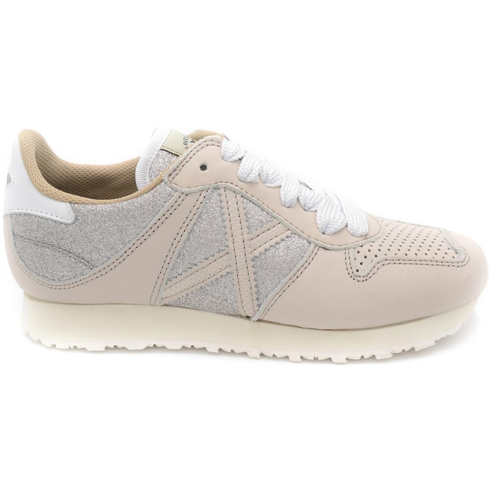 28c31bfdce MUNICH - Sneakers Donna Massana 8620262 Argento / glitter Taglia: 39 ...