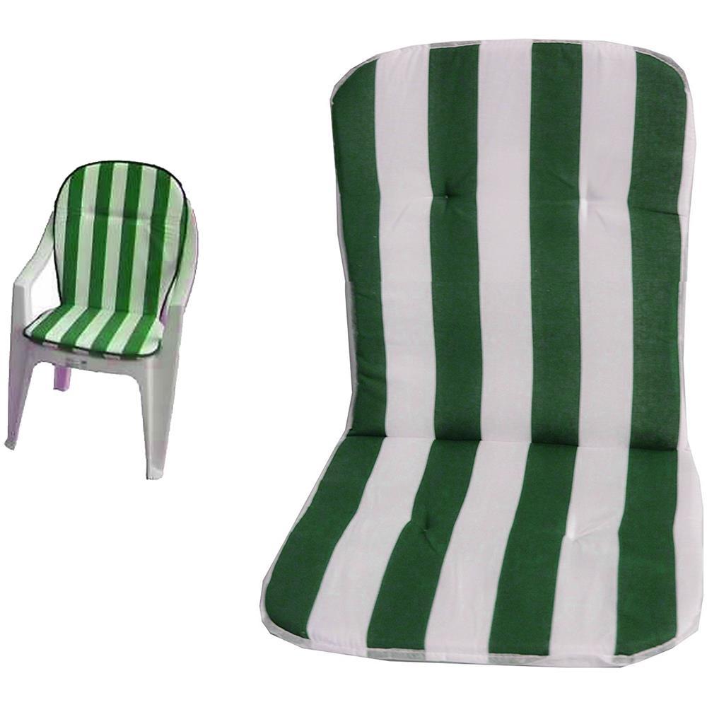 Cuscini Per Sedie Sdraio.Takestop Set 2 Cuscini Cuscino Strisce Verde Bianco Sedia Sdraio
