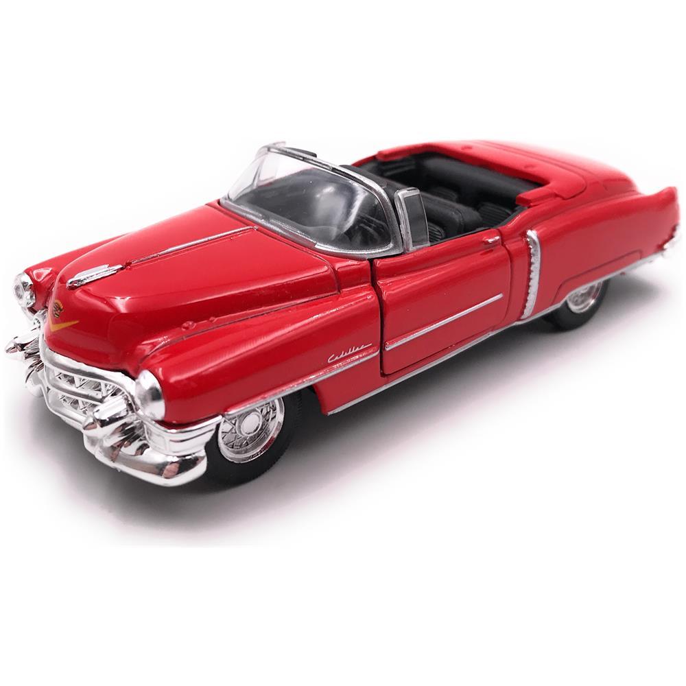 Onwomania Auto Onwomania Modello Cadillac Eldorado Decappottabile D Epoca Macchina Rossa Mst 1 34 39 Eprice