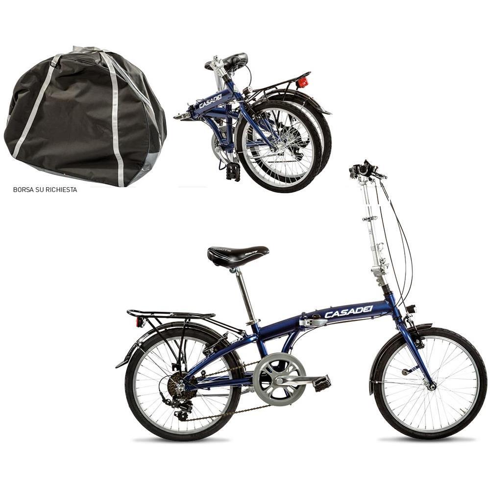Bici Pieghevole Folding.Cicli Casadei Bici Pieghevole Cicli Casadei Folding 20 Alluminio 7v Borsa Su Richiesta