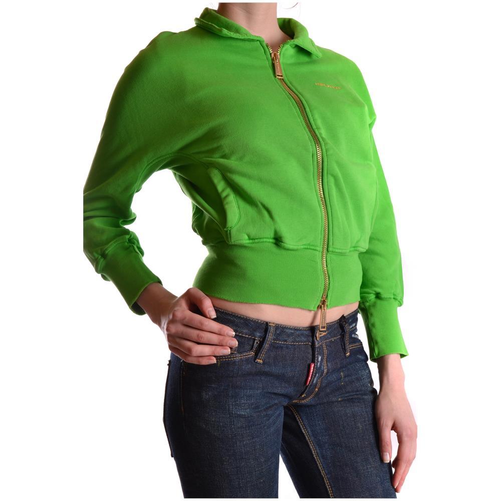 DSQUARED2 - Felpa Donna Mcbi107038o Cotone Verde Taglia 38 - ePRICE edbb2cd733b0
