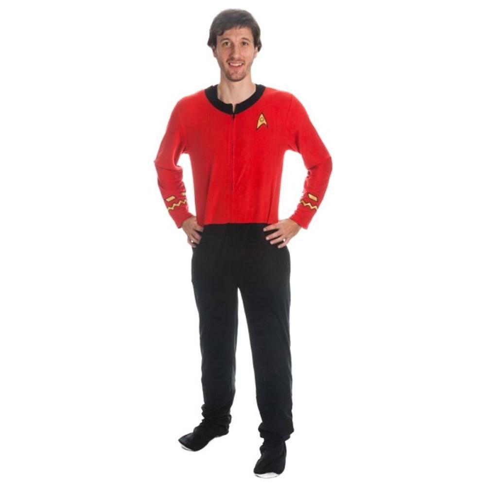 Star Trek - Red Union Suit (Pigiama Uomo Tg. M)