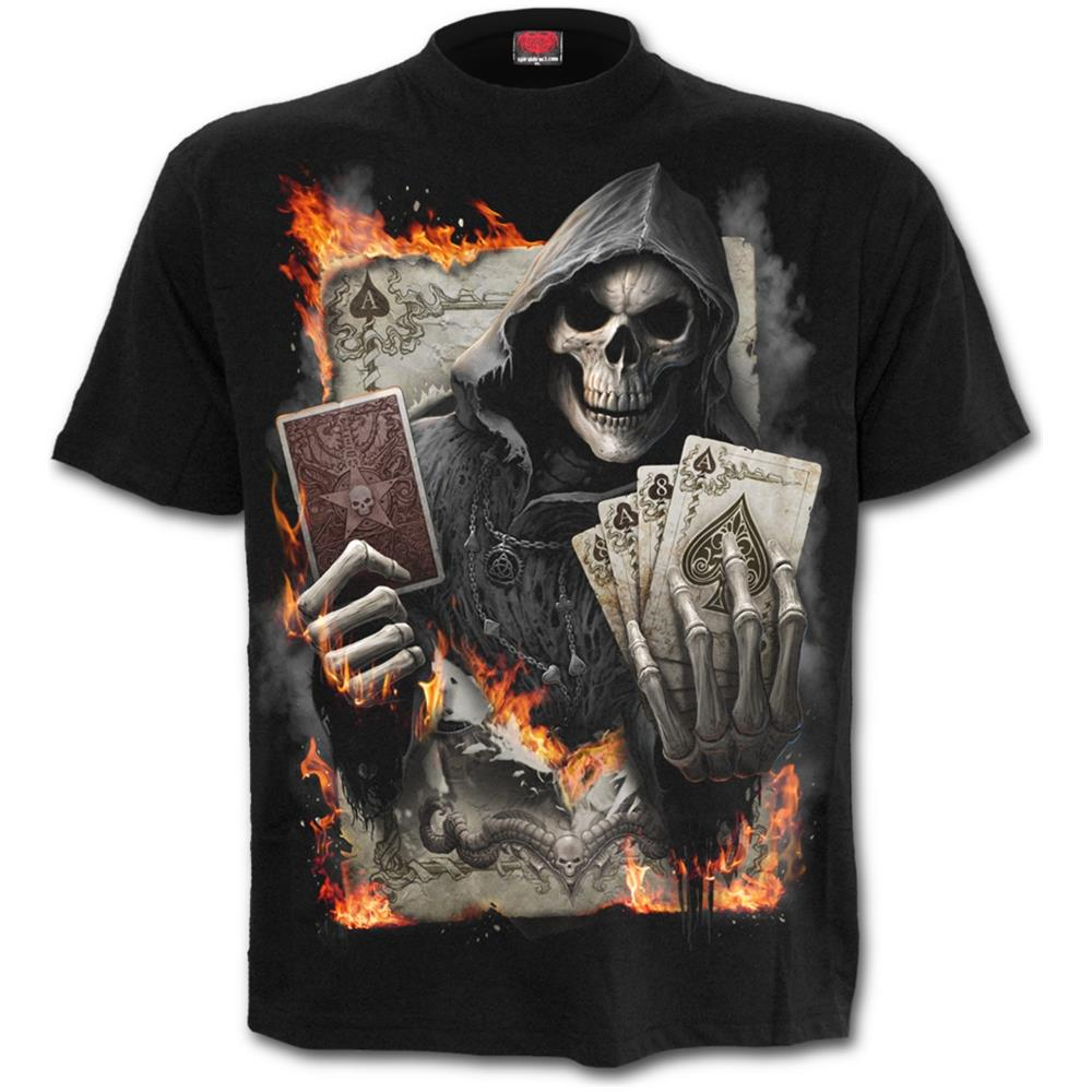 - Ace Reaper - Black (T-Shirt Unisex Tg. Xl)