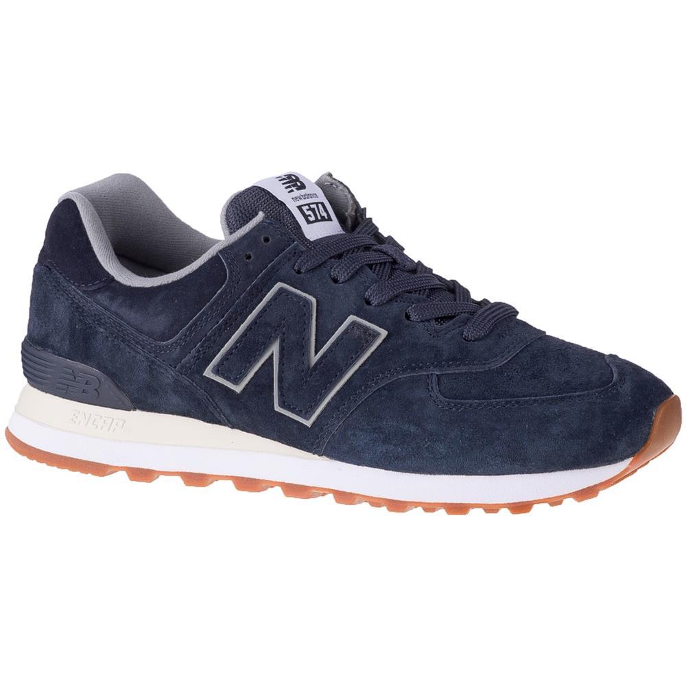NEW BALANCE Ml574ema, Uomo, Blu, Sneakers, Numero: 42 Eu