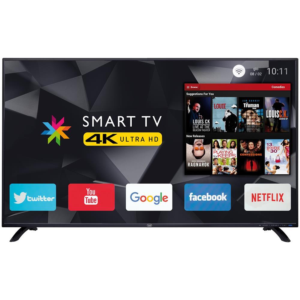 Smart Tv 50' Led Uhd 4k Sat Dvb-t2 Trevi Uhd 5002 Smart