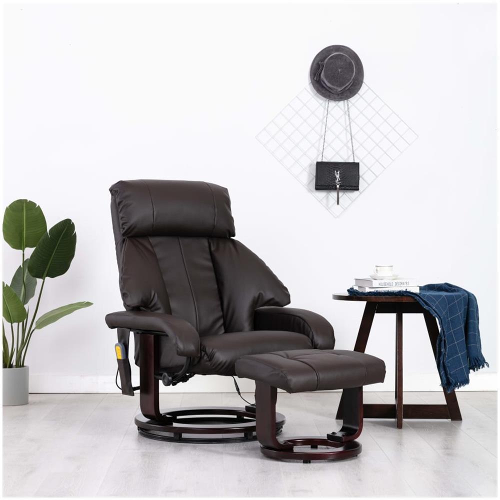 Mendler Poltrona Relax TV HWC-H18 Regolabile Ecopelle 75x70x99cm Nero
