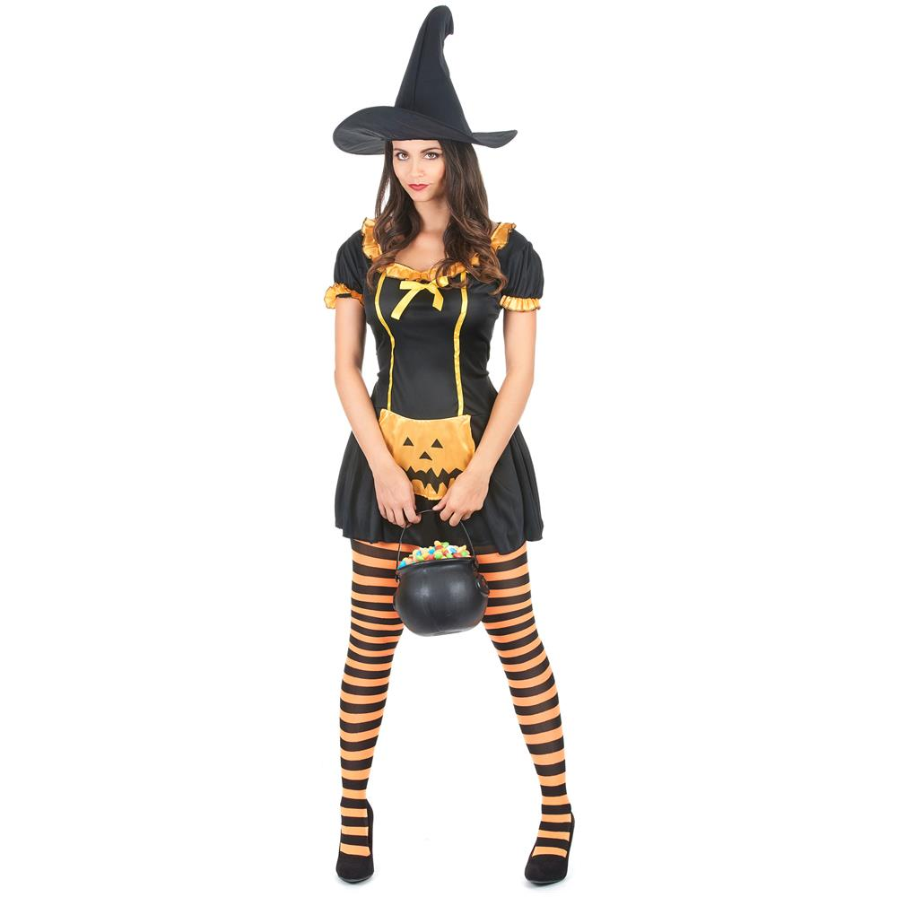 JADEO - Costume Da Strega Con Zucca Taglia Unica - ePRICE 12ec6783d2b4