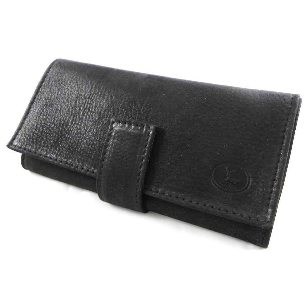 c17d165b34 Frandi - portafoglio in pelle di grandi dimensioni '' nubuck nero - [  h6411] - ePRICE