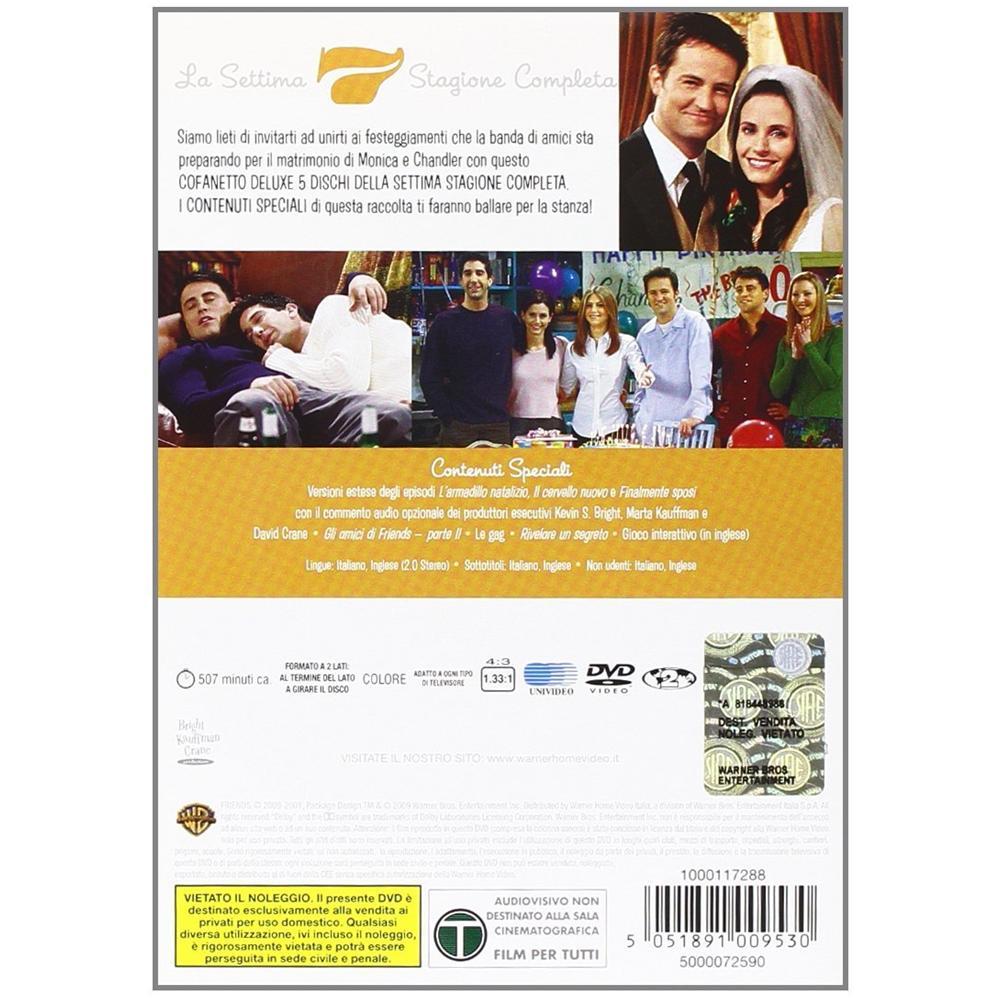 finalmente sposi dvd  WARNER BROS - Friends - Stagione 07 (5 Dvd) - ePRICE