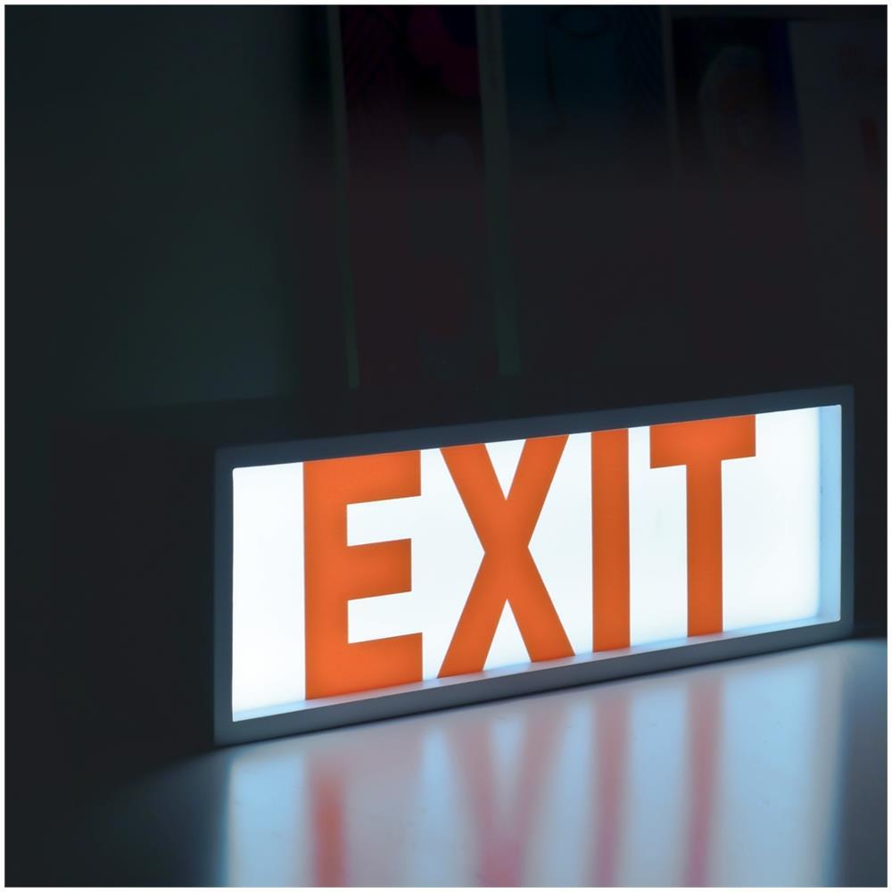 Pusher Lampada Light Box Exit On Air Open 10x30x10 Cm Exite