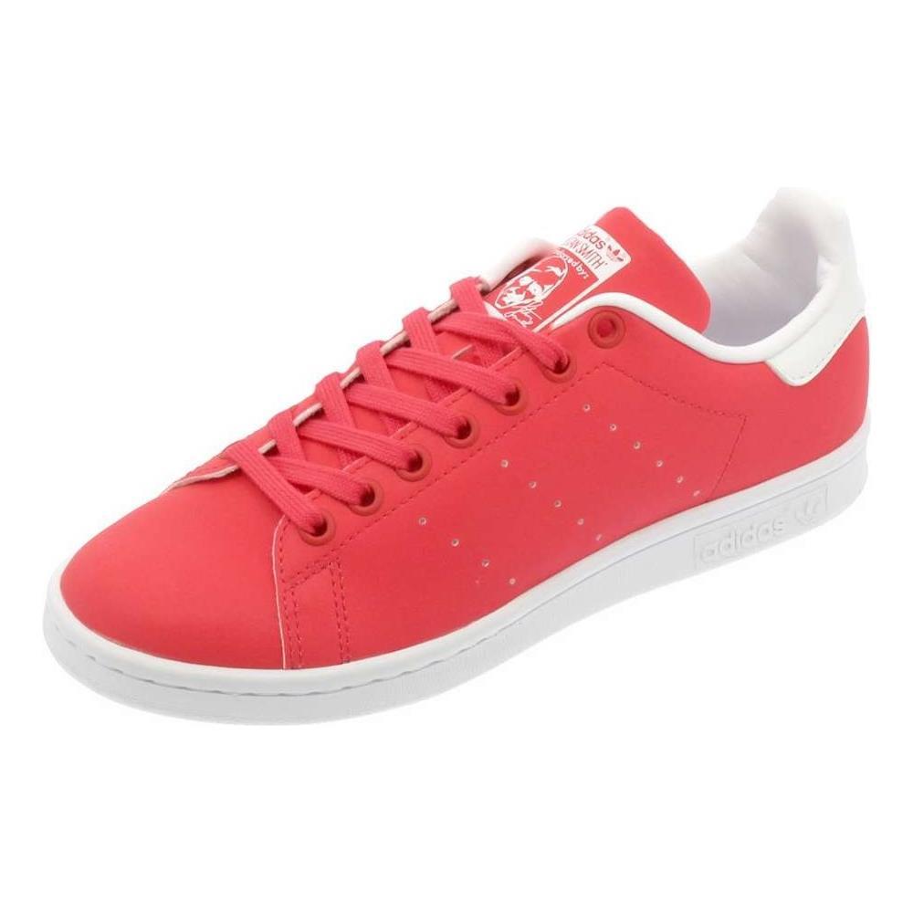Adidas Stan Smith W Scarpe Sportive Donna Rosa Finitura Riflettente 40. Zoom