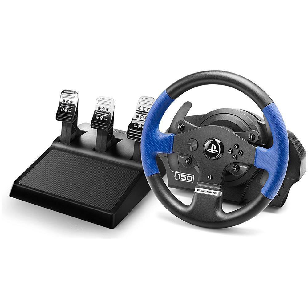 T150 Force Feedback Volante + Pedali con tecnologia Immersion TouchSense per PS3 / PS4