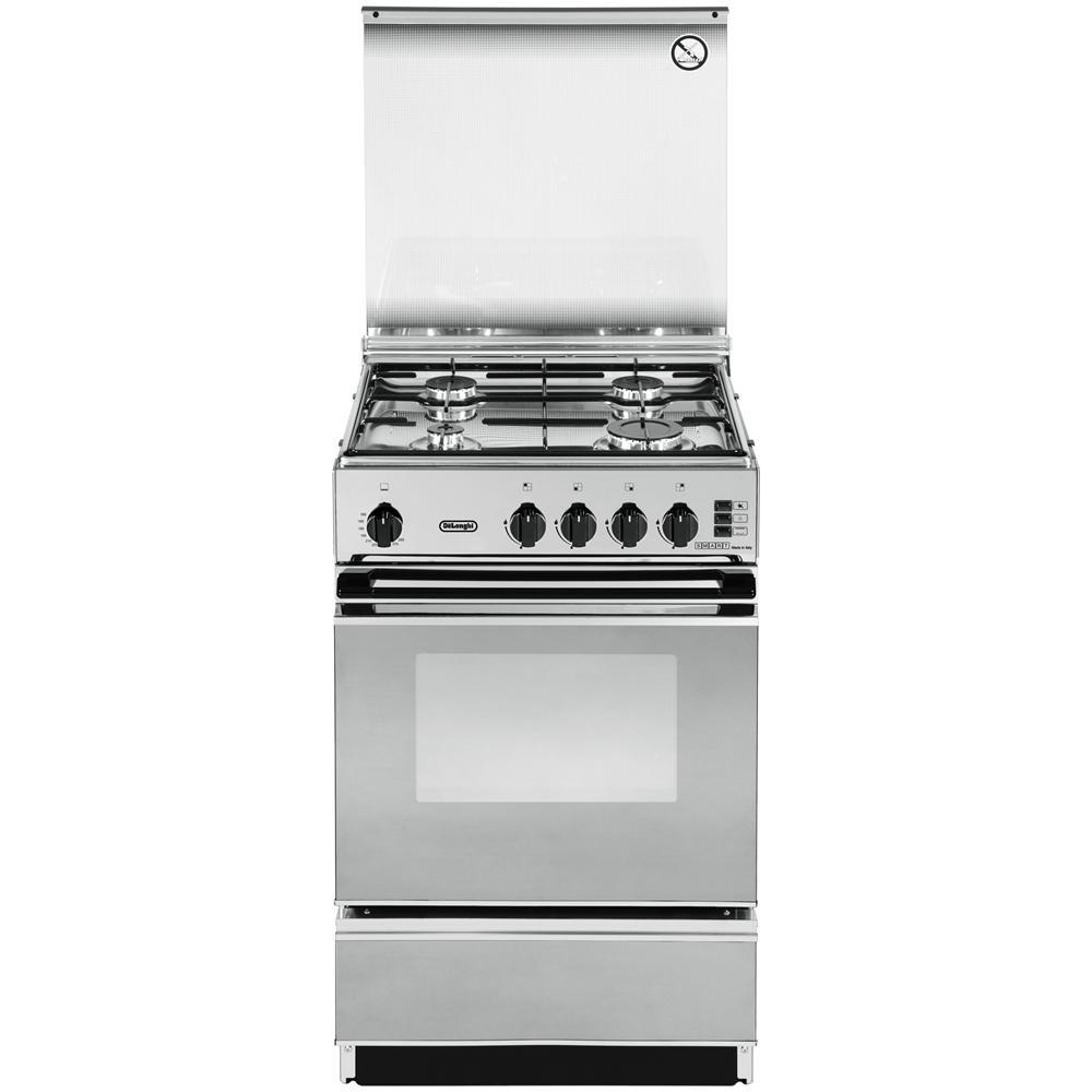 DE LONGHI - Cucina a Libera Installazione SGGX 554 N 4 Fuochi 50x50 ...